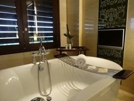 セントレジス スイート バスルーム バスタブイメージの画像