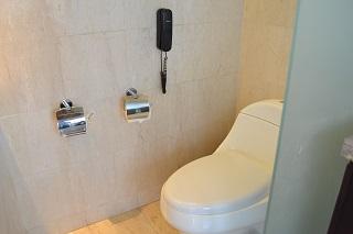 ヴィラアイルバリ プールヴィラ・1ベッドルーム  バスルームのトイレ