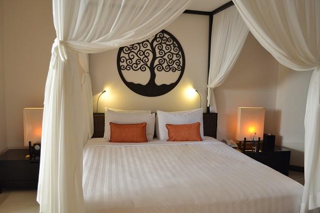 ヴィラアイルバリ ガーデンプールヴィラ・2ベッドルーム ベッドルーム(ダブルベッド)