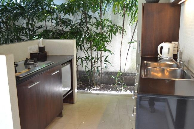 ヴィラアイルバリ ガーデンプールヴィラ・2ベッドルーム キッチン