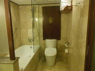 メリアバリ ファミリールーム トイレ