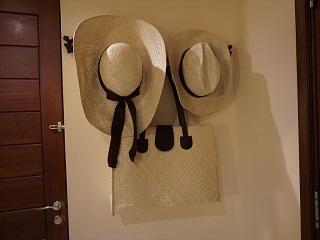 ザ・セントレジス バリ リゾート セントレジススイート バッグと帽子