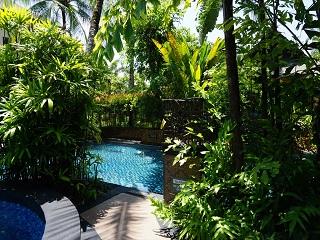 ザ・セントレジス バリ リゾート 1ベッドルームラグーンヴィラ ガーデンエリア