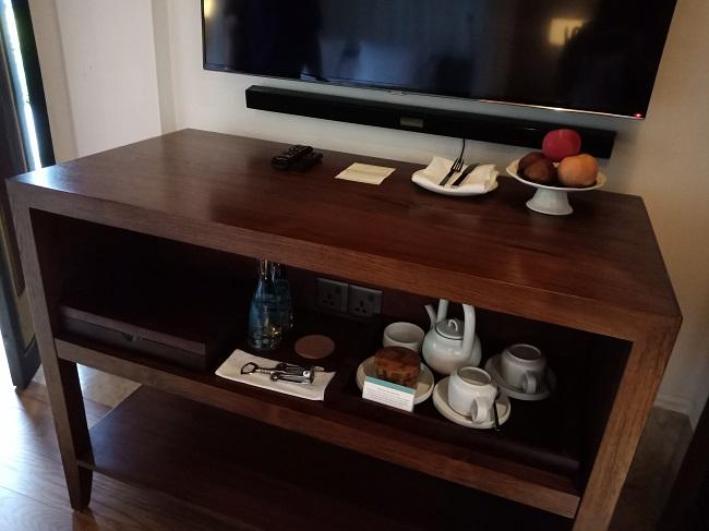 フォーシーズンズリゾートバリアットジンバランベイ ジンバランベイヴィラ コーヒー・紅茶のセット