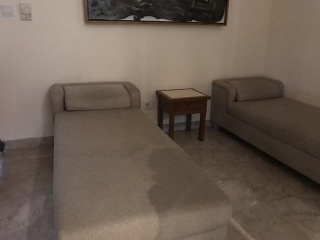 パドマリゾートレギャン デパーチャーラウンジ 仮眠スペース