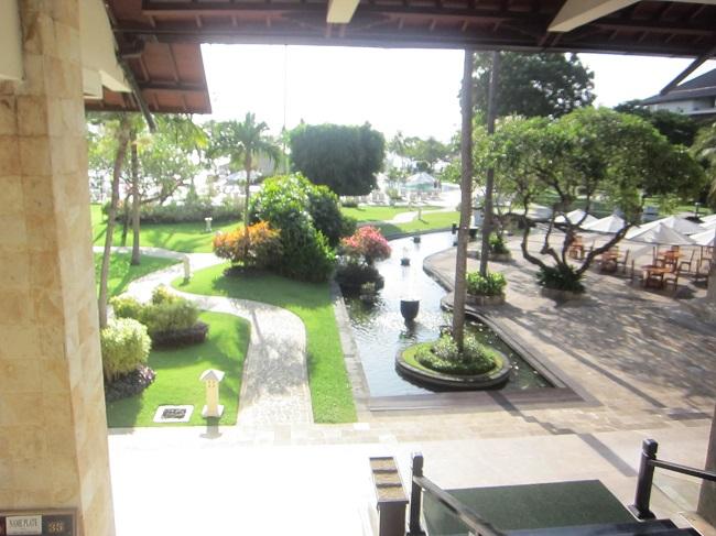 ディスカバリー・カルティカ プラザ ホテル 広々としたお庭