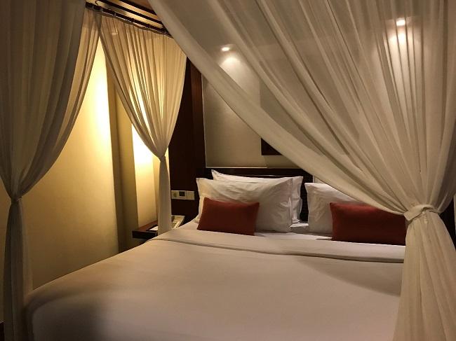 メリア・バリ ファミリールーム 2階ベッドルーム