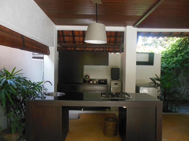 アラヤデダウンクタ プライベートプール付1ベッドルームヴィラ キッチン