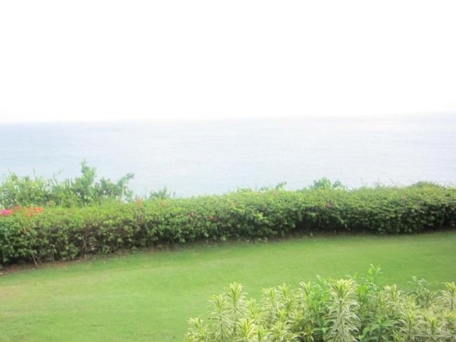 ザ・ヴィラズ・アット・アヤナ・リゾート・バリ 1ベットオーシャンビュープールヴィラ お庭からの景色