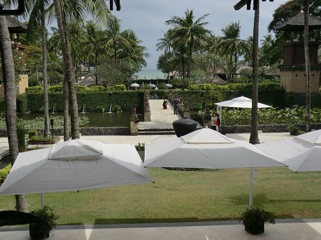 インターコンチネンタル・バリ・リゾート ロビーからの眺望