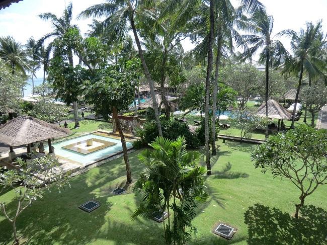 インターコンチネンタル・バリ・リゾート シンガラジャルーム バルコニーからの眺望