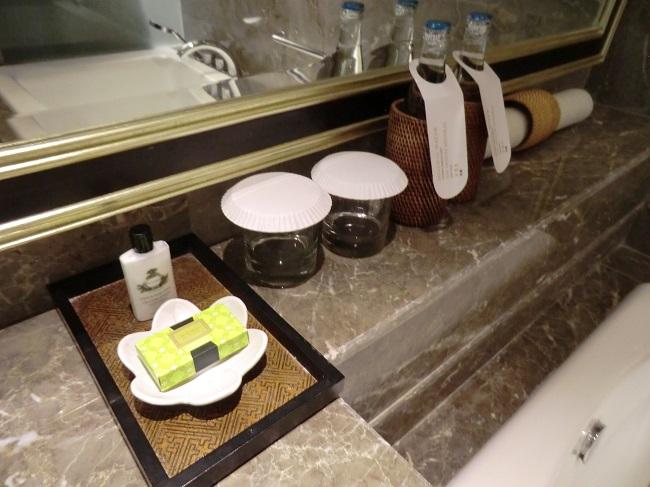 インターコンチネンタル・バリ・リゾート シンガラジャルーム 洗面台