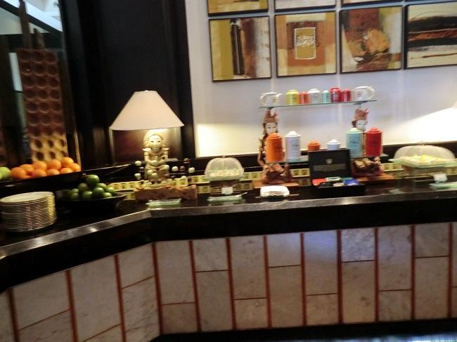 インターコンチネンタル・バリ・リゾート クラブ・インターコンチネンタル お食事