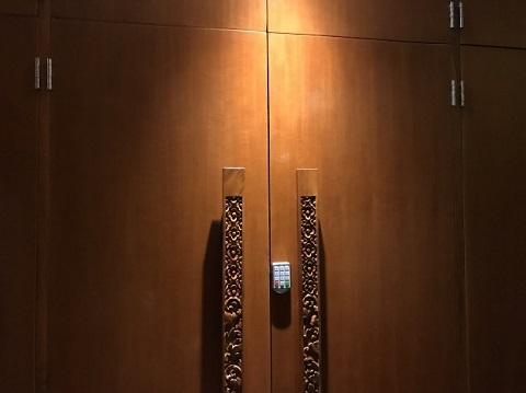 インターコンチネンタル・バリ・リゾート SAYANAラウンジ ロッカー