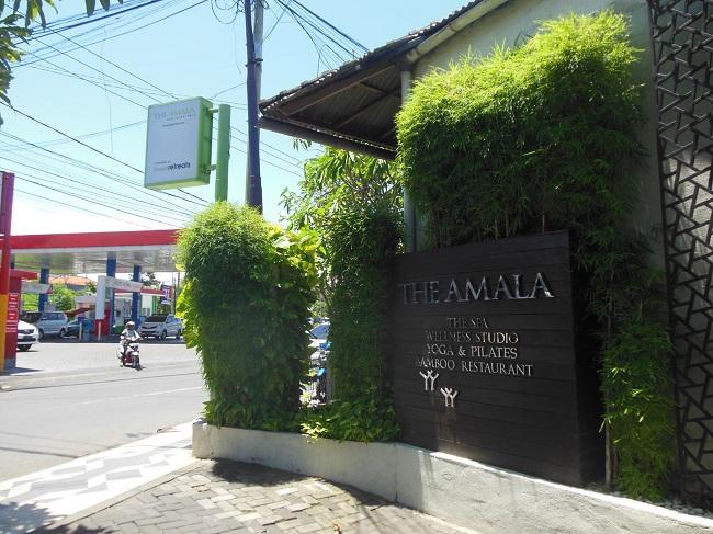 ザ・アマラ スミニャック 入口