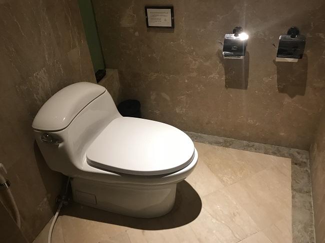 ヴィラ アイルバリ ブティック リゾート ガーデンプールヴィラ2ベッドルーム トイレ