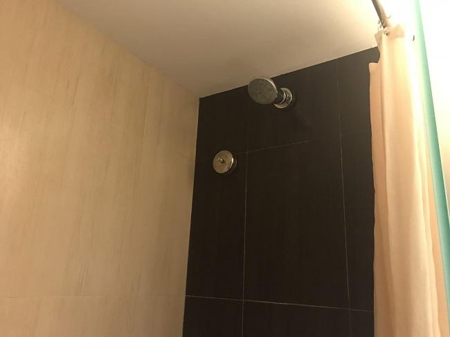 アストン クタ ホテル&レジデンス デラックスルーム シャワー