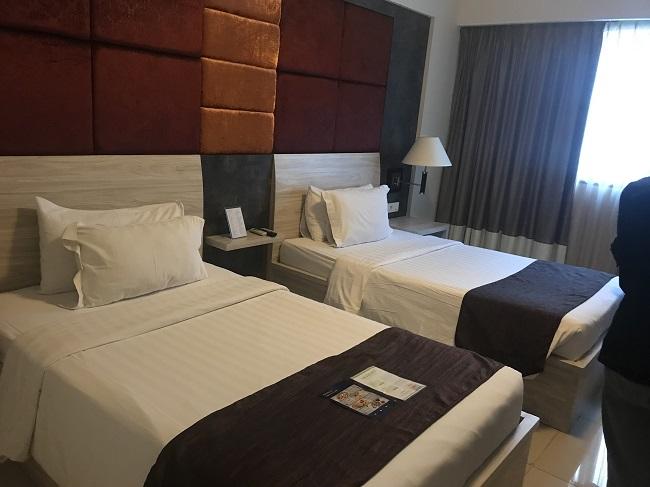 アストン クタ ホテル&レジデンス スーペリアルーム ベッドルーム