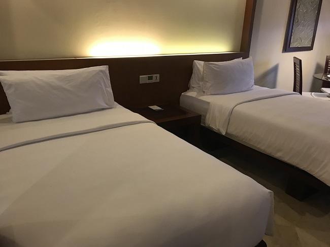 メリアバリ ファミリールーム 1階ベッドルーム