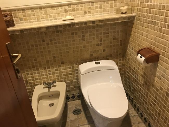 メリアバリ ガーデンヴィラ トイレ